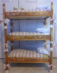 Badger Basket Doll Bed by Bunk Beds American Doll Beds For Sale American Doll