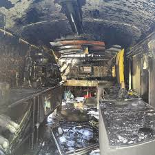 100 Baton Rouge Food Trucks Small Coffee Food Truck Annihilated In Fire