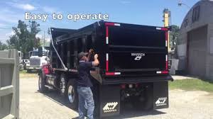 100 Dump Truck Tailgate Ground Op Side Swing Gate YouTube