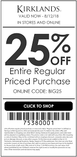 Kirklands Coupons - 25% Off At Kirklands, Or Online Via ... Lily Hush Coupon Idw Publishing Code Snapfish Mugs Coupons Kirklands Coupons 20 Off Today At Or Online Selwater Gun Safe Host Exllence Promo Codes Perpay 2019 Beoutdoors Discount Coupon Supercheap Auto Jackals Gym Turkish Airlines Uk Runningwarehouse Com Flash Sale Extra Mr Show The Movie Traeger Grill Promotion Elli Invitations Month Of 7k September Postmates Ordnance Survey Cheap Save Date Cards In Bulk Plant Future