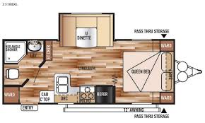 Wildwood Fifth Wheel Floor Plans Colors New 2015 Forest River Rv Wildwood X Lite 231rbxl Travel Trailer At