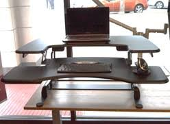 Varidesk Pro Plus 36 by Side By Side Sit Stand Desk Converters Review Stephanie Gilbert