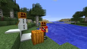 Minecraft Pumpkin Farm 111 by A Simple Model Edit That Makes Pumpkins Uncarved While Placed But