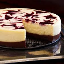 This Chocolate Cherry Cheesecake is ridiculous– ridiculous bordering on obscene Chocolate cookie crust