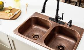 Overstock Bronze Kitchen Faucets by 4 Common Questions About Copper Sink Care Overstock Com