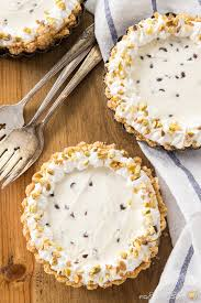 easy no bake dessert recipes single serving no bake cannoli cheesecake cooking on the front
