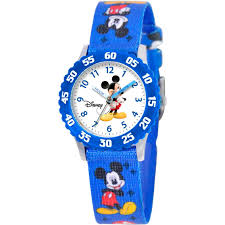 Mickey Mouse Ceiling Fan Globe by Disney Kids Mickey Mouse Time Teacher Blue And White Watch