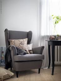 Strandmon Wing Chair Assembly by Ikea Strandmon Wing Chair Gray Looks Nice Against The Wood Floor