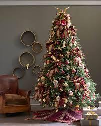 72 Inch Christmas Tree Skirt Pattern by Burgundy And Gold Christmas Tree Skirt Balsam Hill