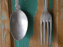 Wooden Fork Spoon Knife Wall Decor by Large Fork And Spoon Wall Decor Good Fork And Spoon Wall Decor