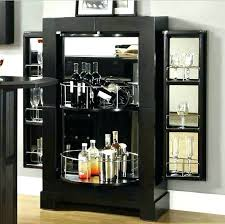 Bar Glass Display Cabinet Liquor Ideas Modern Stylish Designs Refrigerator