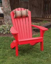 Red Patio Furniture Pinterest by Brightly Colored Red Adirondack Polywood Porch Patio Lawn
