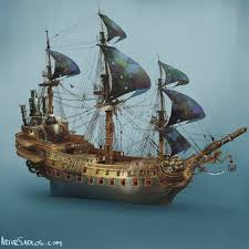 100 Pirate Ship Design A Ship Design For PeterPan Musical Iy Was Done As A Practicsl Prop