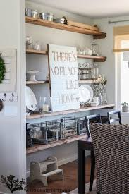 Styled Dining Room Shelving The Wood Grain Cottage Storage Open Corner Buffet Table Bathroom Furniture Living