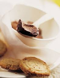 recette sorbet au cacao sablés aux noisettes