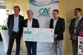 credit agricole centre siege social crédit agricole centre remet 100 000 à ela le journal