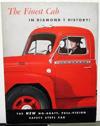 100 Diamond T Truck History 1950 Ruck Dealer Sales Brochure Finest Cab Safety Steel