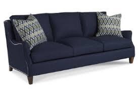Sam Moore Leather Sofa by Living Room Sanders Furniture Company Winder Georgia