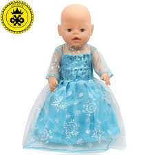 1530 best baby images on 43cm baby born zapf doll dress clothes doll accessories elsa blue
