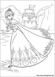 Disney Frozen Coloring Picture