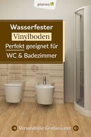 vinylboden für badezimmer wasserfest wie fliesen aber