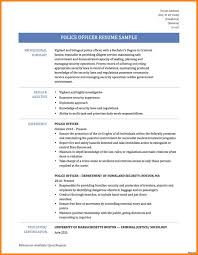 Resume Profile Examples For Law Enforcement Fresh Police Ficer Awesome Example Templates