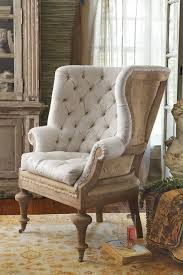 Innovative Wingback Accent Chair Fontaine Rustic Armchairs And Chairs