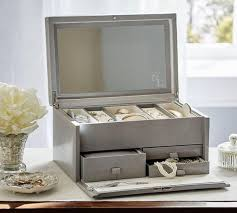 McKenna Leather Large Jewellery Box | Pottery Barn AU Antique Silver Jewellery Boxes Pottery Barn Au Jewelry Box Fine Living For Less Mckenna Leather Large Mirror Best 2000 Decor Ideas 25 Box On Pinterest Diy Jewelry Band Gagement Callie Glass Medium 262 Best Jewellery Boxes Images For Women Storage Australia Watches Find Products