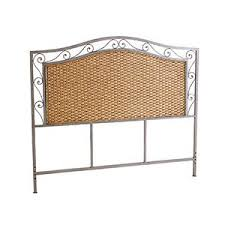 pier 1 imports metal scroll rattan headboard polyvore