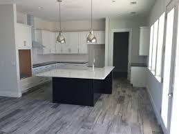 grey wood tile kitchen in splendiferous wood plank porcelain tile