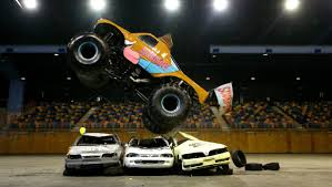 Monster Slam Indoor War On Wheels At Newcastle Entertainment Centre ... Backflip En Monster Truck Youtube Lands First Ever Front Flip Proves Anything Is Possible Jam Sicom Monsterjam2014 Stlouis Freestyle Meents Truck Lands First Ever Frontflip Hd Watch Or Download Downvidsnet Northern Nightmare Crazy Back World Finals Xvii Famous Grave Digger Crashes After Failed An Iron Man Among Monster Trucks Njcom Just Pulled Off A Mind Blowingly Long Record Breaking Best Backflips Backflip