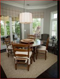 Sisal Rug Wicker Chairs Table And Dining Room Kitchen