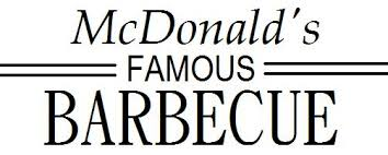 McDonalds Was Founded In 1940 As Famous Barbecue