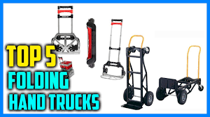 Best Folding Hand Trucks In 2018 - YouTube Shop Hand Trucks Dollies At Lowescom Milwaukee Collapsible Fold Up Truck 150 Lb Ace Hdware Harper 175 Lbs Capacity Alinum Folding Truckhmc5 The Home Vergo S300bt Model Industrial Dolly 275 Cosco Shifter 300 2in1 Convertible And Cart Zbond 2 In 1 550lbs Stair Orangea 3steps Ladder 2in1 Step Sydney Trolleys Best Image Kusaboshicom On Market Dopehome Amazoncom Happybuy Climbing 420 All Terrain