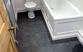 slate bathroom floor