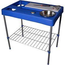 Fish Cleaning Table With Sink Bass Pro fish fillet tables u0026 cutting boards ebay