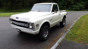 1972 Chevy K10 Short Box Step Side 4x4 Pickup - Vintage Mudder ...