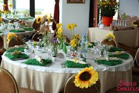 boys cowboy themed baby shower party table decor
