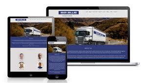 100 Big Blue Trucking BIG BLUE TRUCKING Website PixelGraph Media
