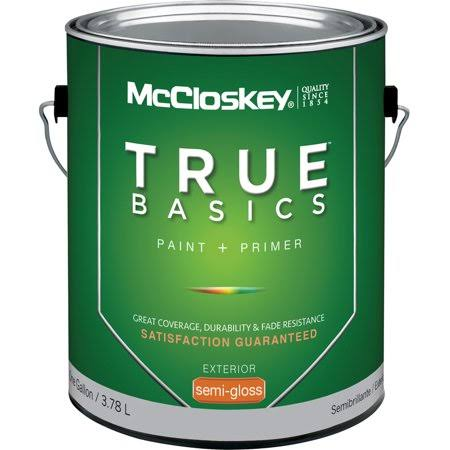 McCloskey 14581 Exterior House Paint - Pastel Base, 1gal