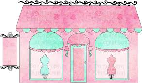 Dress Shopping Clipart 3