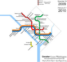 The evolution of Metrorail 1976 2010 – Greater Greater Washington