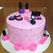 Spa Birthday Cake Cakes For Girls Great Any 7 Year Old Girl To Enjoy