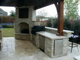 outdoor fireplace plan – breker