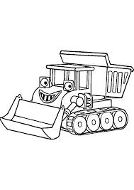 √ Coloriage Tracteur 68 Dessin