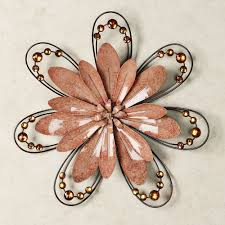 Metal Flower Wall Art Outdoor