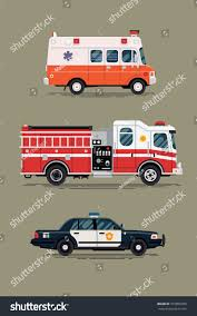 100 Emergency Truck Cool Vector Ambulance Paramedic Car Stock Vector Royalty