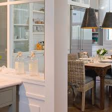 Steel And Glass Dining Room Partition Design Ideas Kitchen Dividers