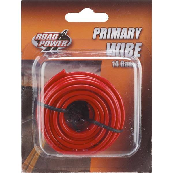 Coleman Cable 14-Gauge Automotive Copper Wire - Red, 17'