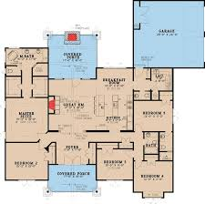 Plan 70532MK Five Bedroom Rustic House PlansCraftsman Style